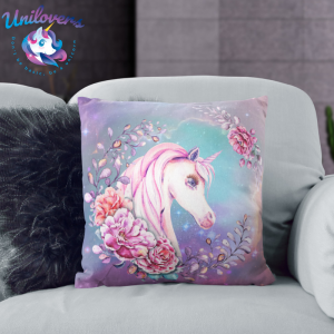 Purple Unicorn Pillow