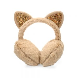 Plush Unicorn Winter Earmuffs