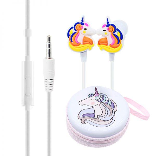 Adorable Unicorn Wired Earphones