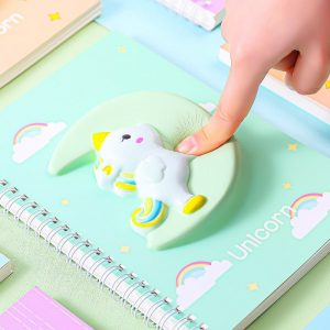 Unicorn 3D Squishy Notebook