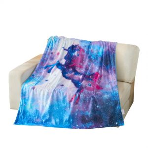 Unicorn in the Galaxy Blanket