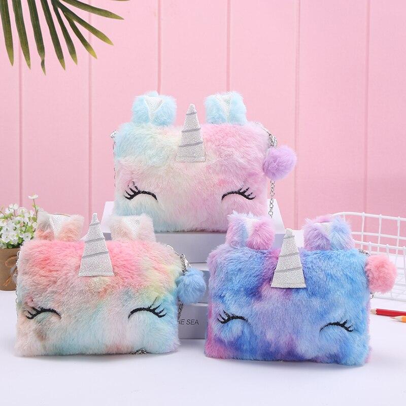 Unicorn Fluffy Shoulder Bag