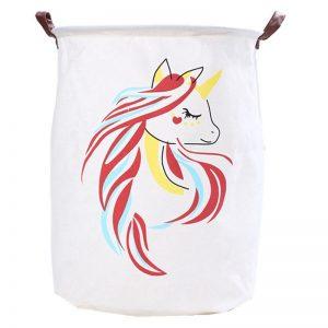 Unicorn Folding Bin/ Laundry Basket