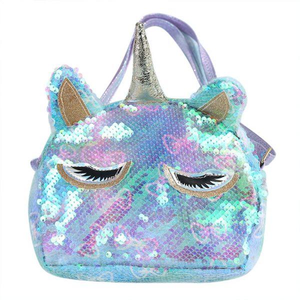 Unicorn Holographic Sequin Cross-body Bag