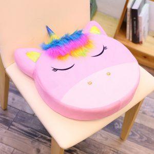 Rainbow Unicorn Plush Cushion