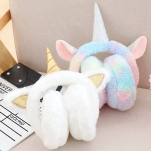 Unicorn Adorable Plush Earmuffs