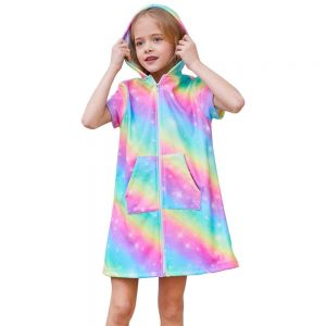 Holographic Rainbow Unicorn Dress