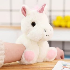 Unicorn Plush Toy Warm Handcuffs Bracelet