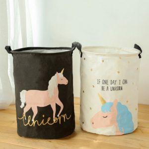 New Unicorn Storage Laundry Basket