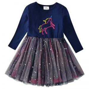 Unicorn Princess Tutu Dress for Girls