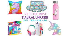 30 Majestic Unicorn Gifts For Girls