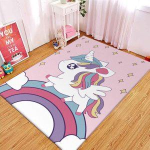 Rainbow Unicorn Carpet