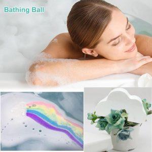 Unicorn Rainbow Bath Bubble Exfoliating Bombs