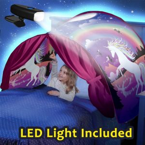 Unicorn Dream Tents With LED Light