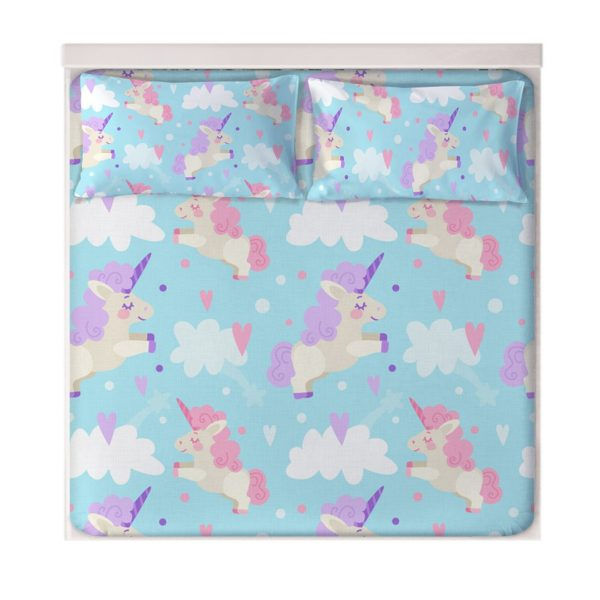 Unicorn Dreaming Fitted Sheets