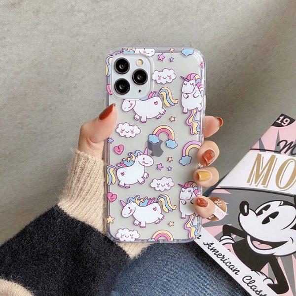Unicorn And Flamingo Phone Case