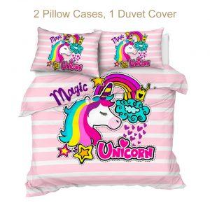Calorful Magic Unicorn Bedding Set