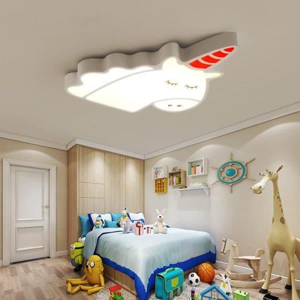 Creative Unicorn Ceiling Chandelier For Kid's Room