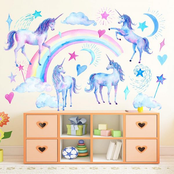 Unicorn Wall Stickers for kids rooms