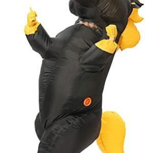 Black Inflatable Unicorn Costume
