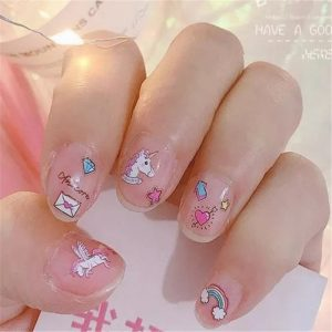 Exclusive Unicorn Nail Art Stickers