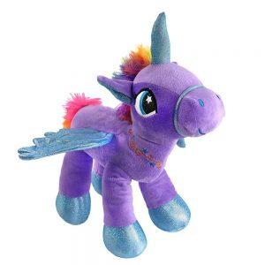 Glowing LED Night Light Unicorn Stuffed Animal Toy
