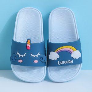Unicorn Summer Beach Flip Flops