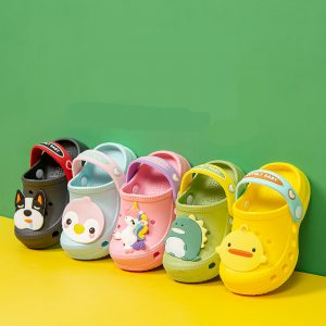 Summer Children's Unicorn Crocs