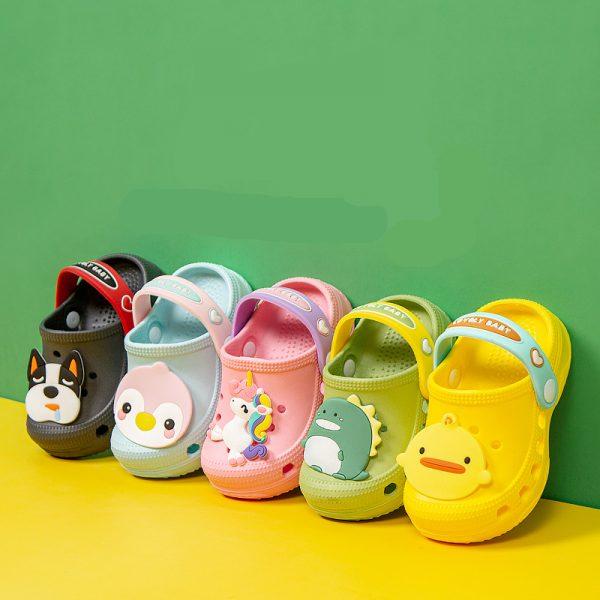Summer Children's Unicorn Crocs