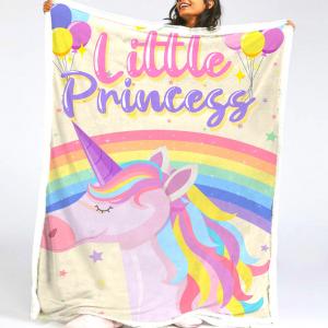 little priness unicorn blanket