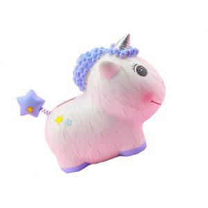 Cartoon Unicorn Coin Bank