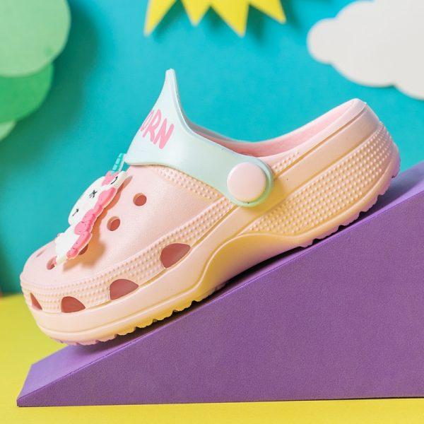 Unicorn Crocs For Kids