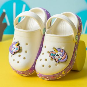 Anti Slip Unicorn Crocs For Kids