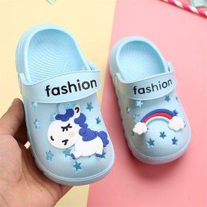 Toddler Unicorn Crocs