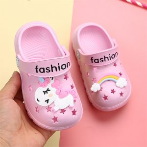 Toddler Unicorn Crocs