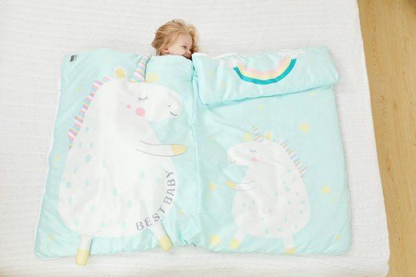 Pink Unicorn Sleeping bag