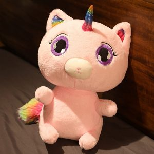 Big-Eye Unicorn Plush Toy