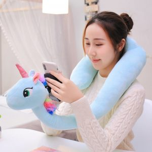 Unicorn Hands Free Stuffed Phone Fix Holder