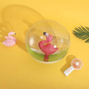 Inflatable swimming-pool balls