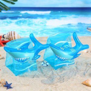 Inflatable Unicorn Baby Arm Floats – Swim Arm Bands Circle Floaties