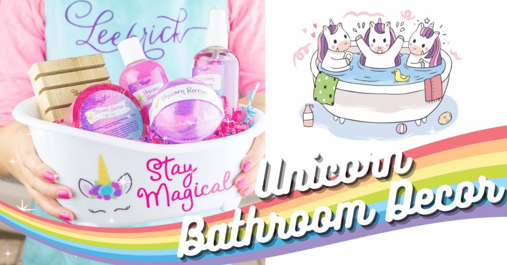 20+ Essential Items For Decorating Magical Unicorn Bathroom