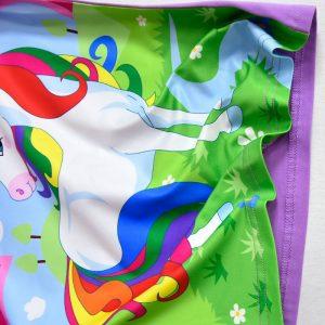 Unicorn Colorful Rainbow Summer T-shirt