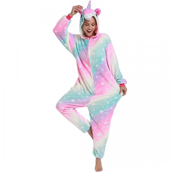 Pastel Unicorn Onesie Costume Pyjamas