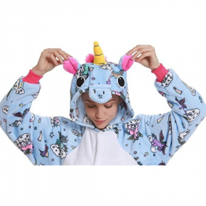 Cloud Unicorn Costume Onesie For Women