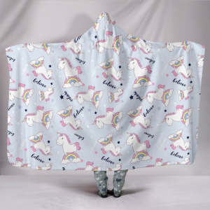 Magic Unicorn Hooded Blanket