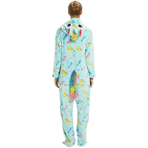 Green Unicorn Costume Onesie For Women