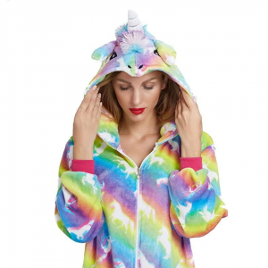 Rainbow Star Unicorn Onesie Costume Pyjamas