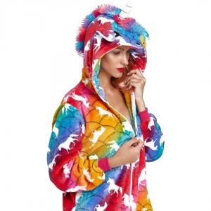 Rainbow Unicorn Onesie Costume Pyjamas