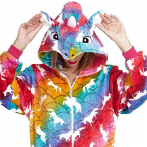 Rainbow Unicorn Onesie Costume Pyjamas