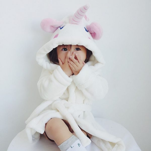 Flannel Unicorn Baby